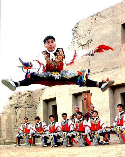 Danza De Las Tijeras Peru